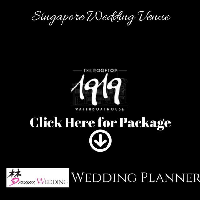 singapore wedding venue the roof top 1919 water boathouse singapore wedding planner dream wedding boutique bridal