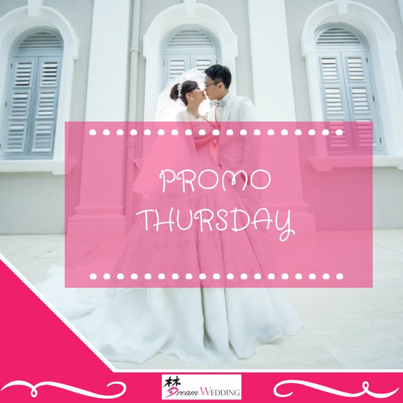 Cheap Wedding Gown Rental Singapore: Promo Thursday (28 May