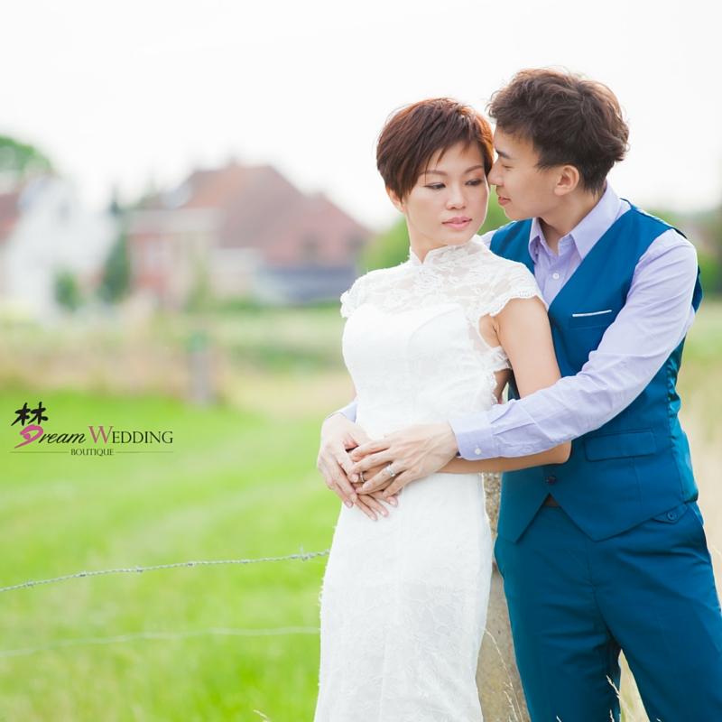Europe Countryside Natural Pre Wedding Photoshoot