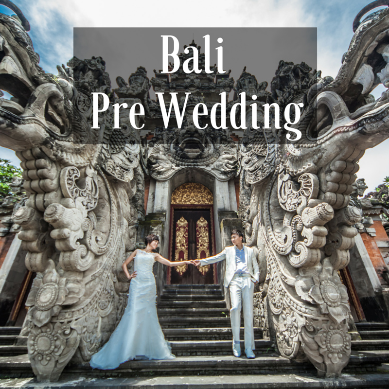 Bali Pre Wedding photoshoot package wedding gown rental dream wedding boutique singapore bridal make up package