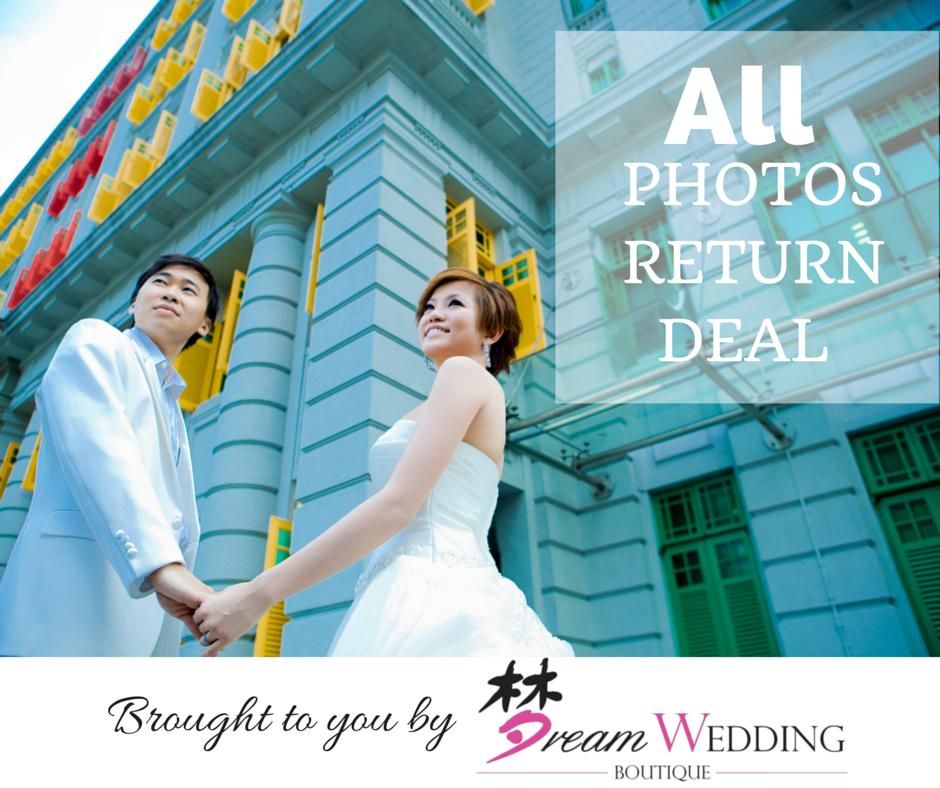 Cheap Wedding Gown Rental Singapore: All Photo Return Pre Wedding Photoshoot Flash Sales