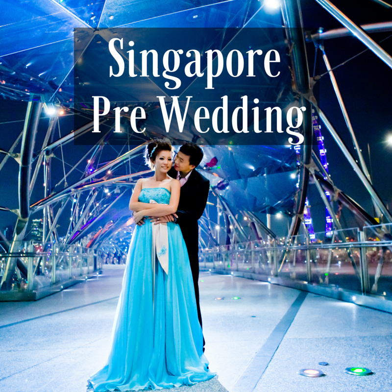 Singapore Pre Wedding photoshoot package wedding gown rental dream wedding boutique bridal make up package
