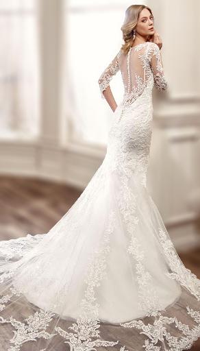 Long sleeve wedding dress singapore