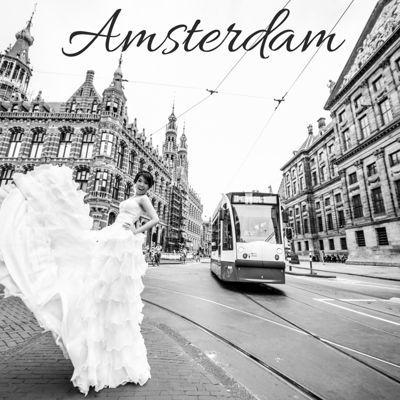 Amsterdam Pre Wedding Photoshoot Package Singapore Bridal Dream Wedding Boutique copy