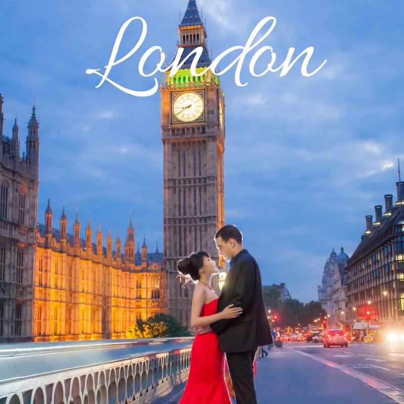 London Pre Wedding Photoshoot Package Singapore Bridal Dream Wedding Boutique copy