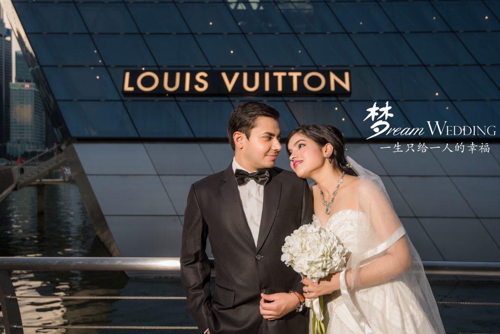 Ankit Saumya Indian Couple Photoshoot In Singapore Dream Wedding