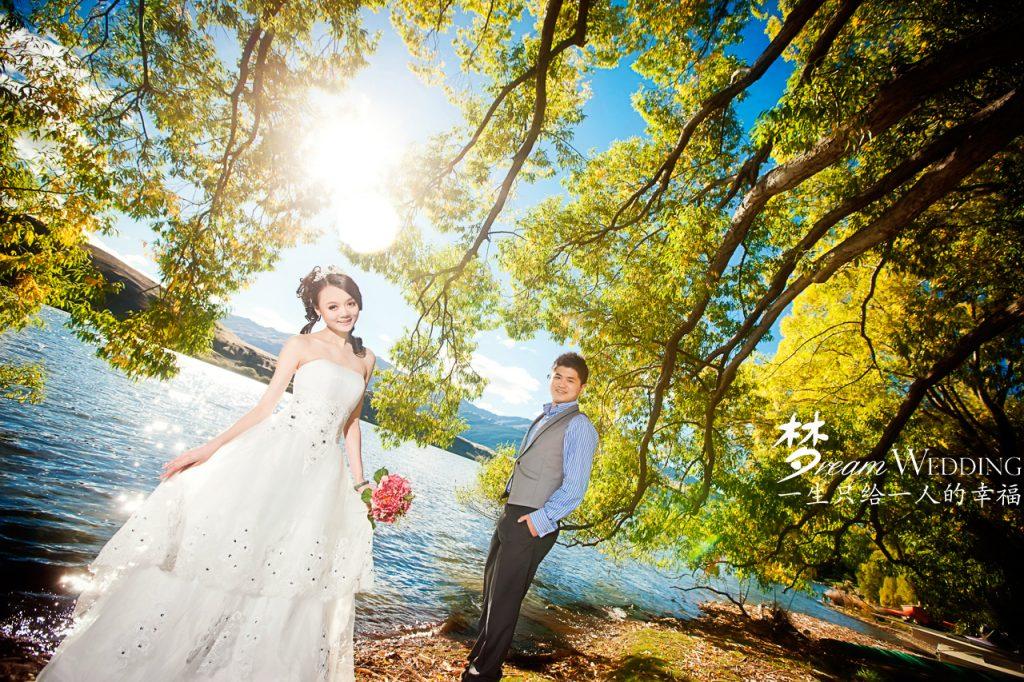 Simple Wedding Dresses Nz: New Zealand Pre Wedding Photoshoot