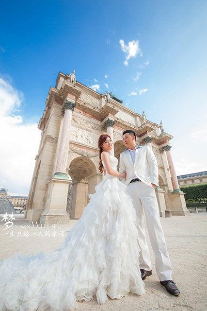 d5ebf2d282 France - Paris Pre Wedding Photography - Dream Wedding